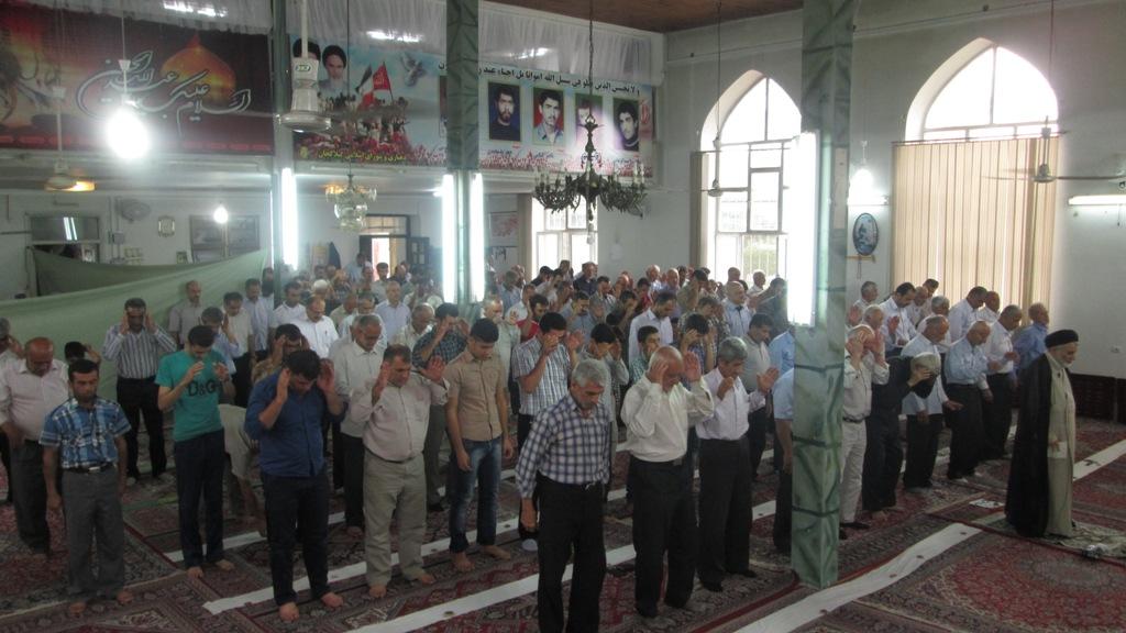 برگزاری نماز وحدت آفرین عید سعید فطر