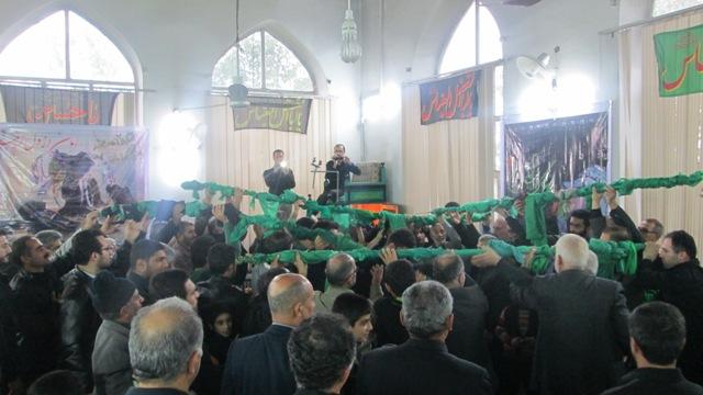 گزارش تصویری از محرم ۹۳ در مسجد جامع گیلاکجان