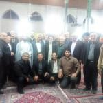 تجلیل از حاج آقا میروشندل، امام جماعت سابق مسجد جامع گیلاکجان