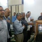 مراسم یادبود شهید محسن روانخواه در حسن سرا برگزار شد