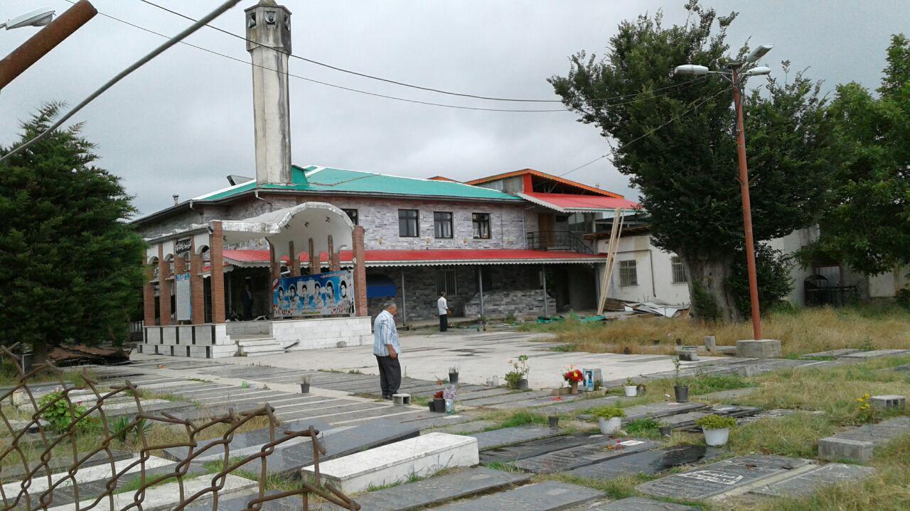 فیلم های مرمت سقف مسجد جامع گیلاکجان