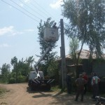اتمام عملیات تقویت شبکه برق خانگی در خیابان شهدا و کوچه های شقایق ۳ و ۴ توسط دهیاری گیلاکجان