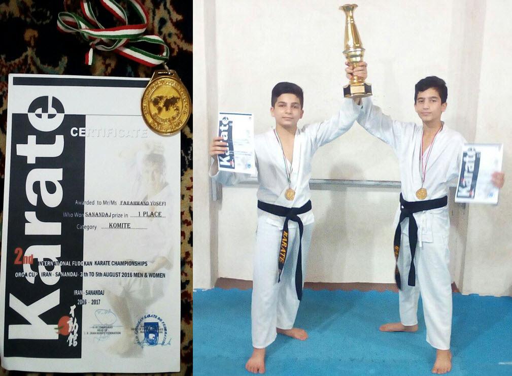 کسب سه مدال ارزشمند طلا، حاصل تلاش کاراته کاران گیلاکجانی در مسابقات بین المللی اروپایی آسیایی(اوراسیا)