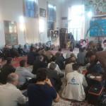 گزارش تصویری یادواره شهدای منطقه ۱۳۹۵/مسجد المهدی عج دعویسرا