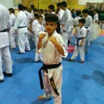 افتخار آفرینی امیدرضا خشنودی گیلاکجانی در مسابقات کاراته قهرمانی کشور