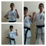قهرمانی برادران خشنودی گیلاکجانی در مسابقات باشگاهی کاراته استان مازندران