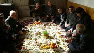 دیدار با خانواده محترم شهید حسین معصومی