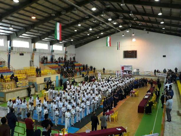قهرمانی کاراته کاران گیلاکجانی در مسابقات کاراته کشوری قهرمان قهرمانان ایران