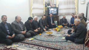 دیدار با خانواده محترم شهید عیسی محمدپور