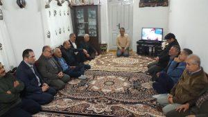 دیدار با خانواده محترم مرحوم محمد محمدپور