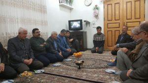 دیدار با خانواده محترم شهید انوش عبدالوهابی