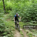 علی(سهند) احمدی مقام چهارم مسابقه دوچرخه سواری کوهستان استان گیلان