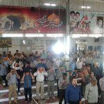 نماز عید فطر ۱۳۹۶ با حضور پرشور مردم در مسجد جامع گیلاکجان برگزار شد