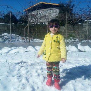 راحیل احمدی گیلاکجانی فرزند رامین
