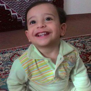 امیرعلی پور رمضان نوه آقای تقی عشوری