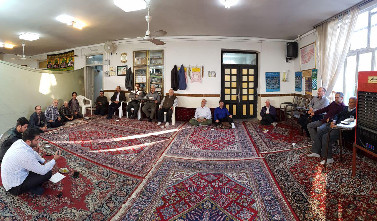نشست صمیمی بررسی مشکلات روستا و روستائیان در گیلاکجان