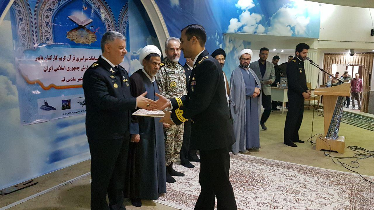 کربلائی بهنود سلیمانی گیلاکجانی، مقام اول مسابقات سراسری اذان ارتش جمهوری اسلامی ایران