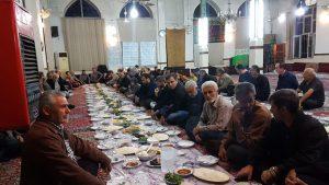 ضیافت افطاری در مسجد جامع گیلاکجان
