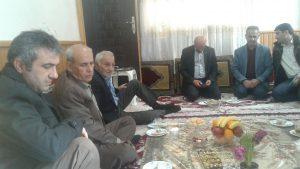 دیدار با خانواده شهید حسین معصومی