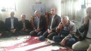 دیدار با خانواده زنده یاد فرامرز باقری