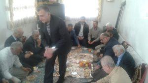 دیدار با خانواده شهید عیسی محمدپور