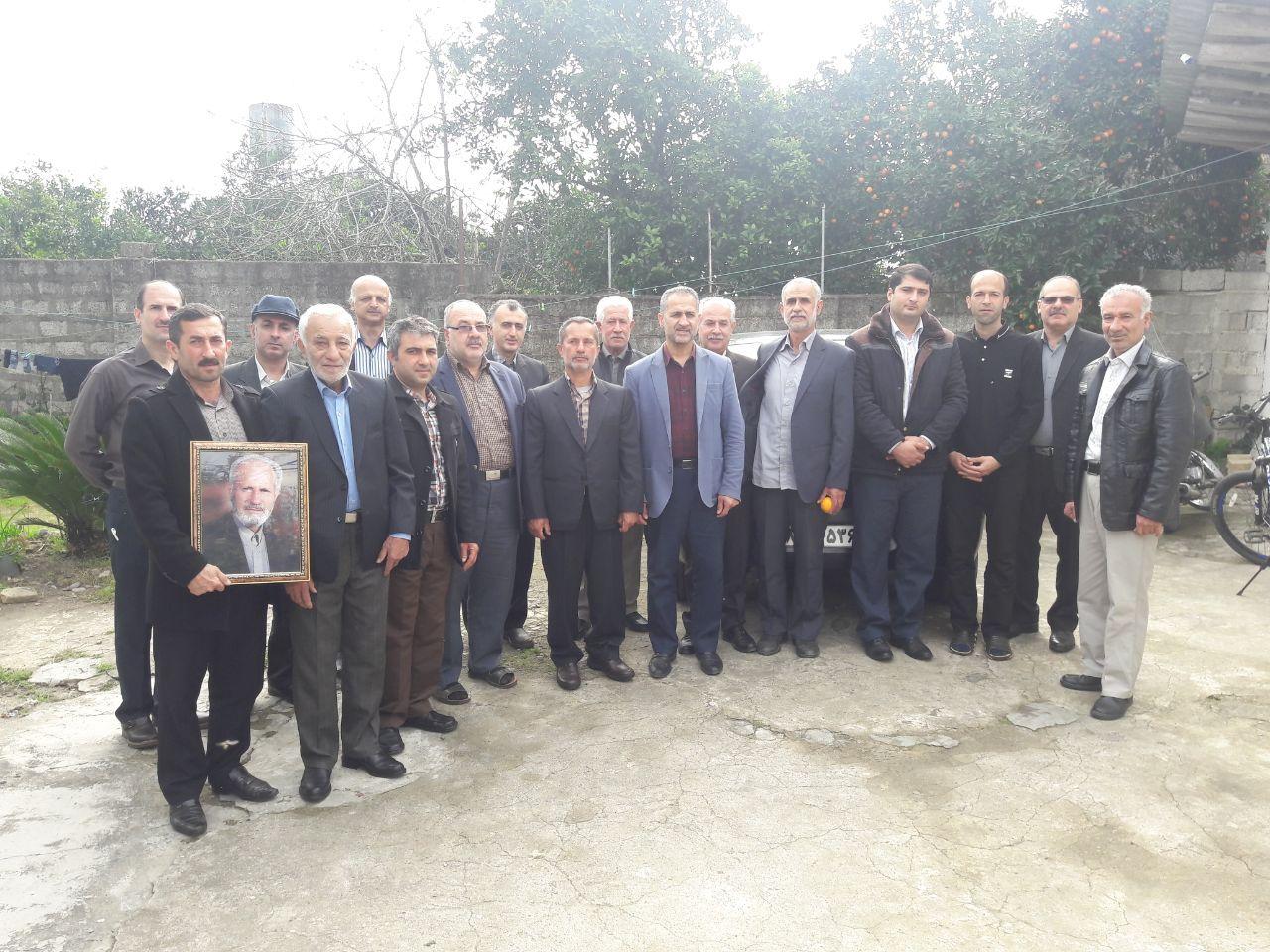 دید و بازدید های نوروزی ۱۳۹۷ و سرکشی از خانواده های معزز شهدای گیلاکجان