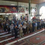 برگزاری نماز باشکوه عید فطر ۱۳۹۷ در مسجد جامع گیلاکجان
